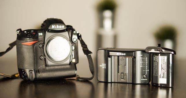 Profesjonalna lustrzanka cyfrowa Nikon D3 pełna klatka