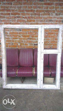 продам 2 деревяні вікна