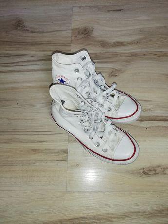 Converse białe 35