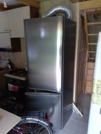 Lodówka Mastercook LCPS-818X  185cm INOX pój. 320l klasa A+