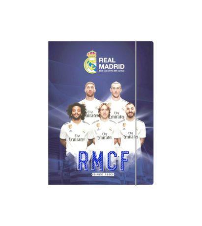 teczka Real Madryt, RMCF teczka piłkarze, teczka z realem madryt piłka