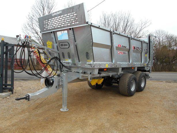 Rozrzutnik CYNKOMET N-221 6 ton CS-Line Fabrycznie nowy