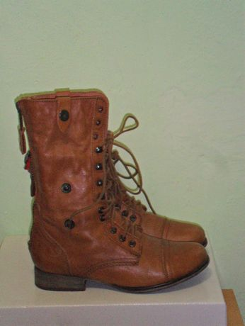 Ботинки кожа Steve Madden р 36