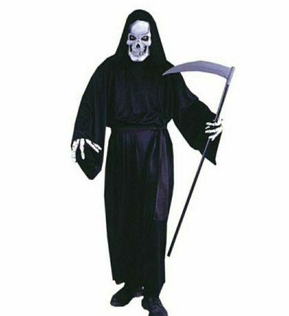 Пластмассовая Коса Смерти разборная на Хэллоуин