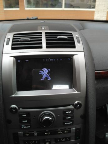 Auto rádio Peugeot 407 GPS DVD bluetooth USB Wi-Fi Android