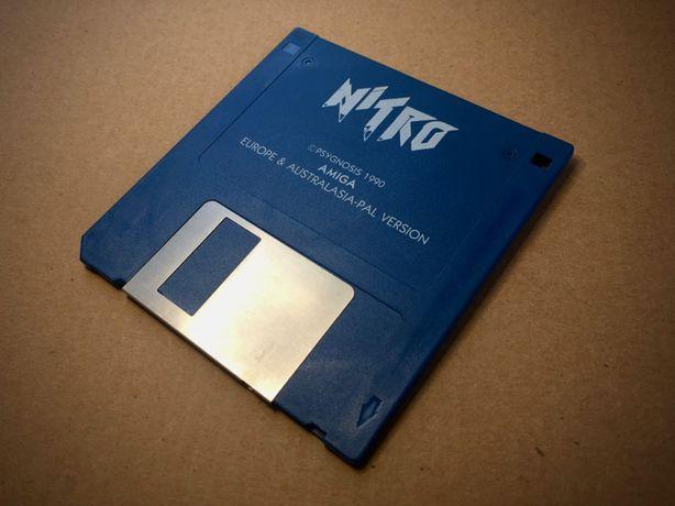 Nitro - Original da Psygnosis para Commodore AMIGA - Retrogaming