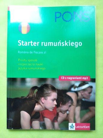 Starter z CD język rumuński dla początkujących Pons