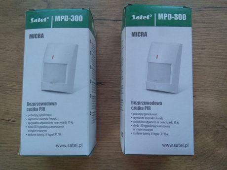 Czujki PIR PET bezprzewodowe Satel MPD-300 Micra