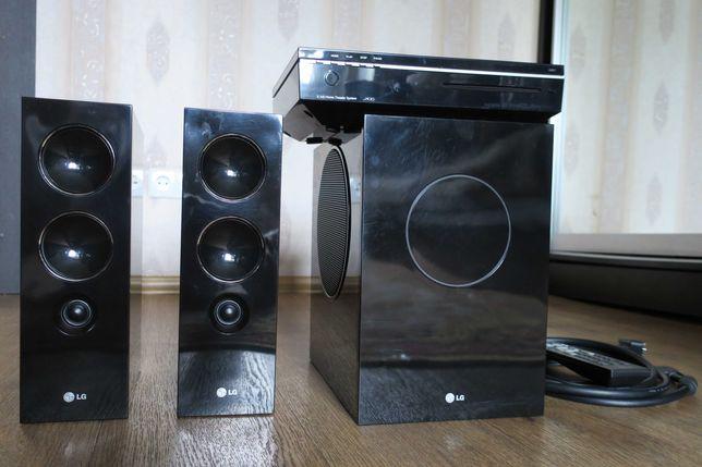 Домашний кинотеатр LG J10DX, формат акустики 2.1
