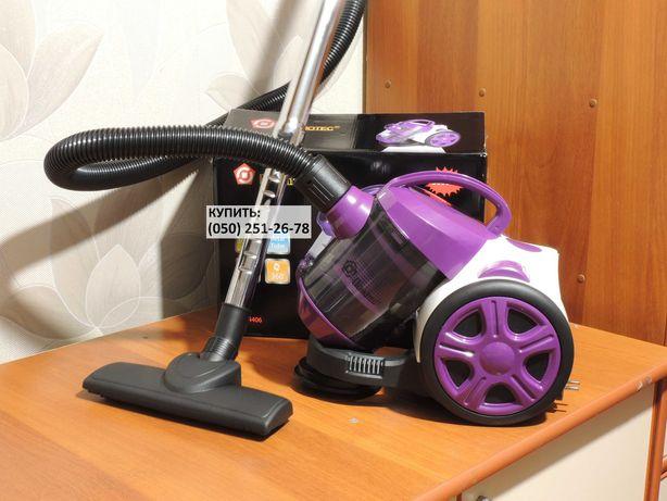 Безмешковой пылесос с НЕРА фильтром. Domotec MS-4406 (3000W). Новый.