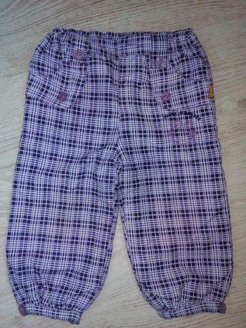 Теплые штаны на флисе 80 размер