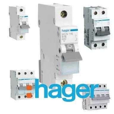 Автоматичні вимикачі ЕХ, HAGER , Schneider Elecric, ПЗВ, диф , Хагер