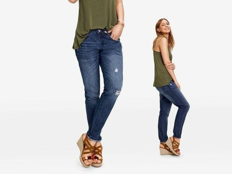 Стильные джинсы бойфренды esmara , Киев - изображение 1