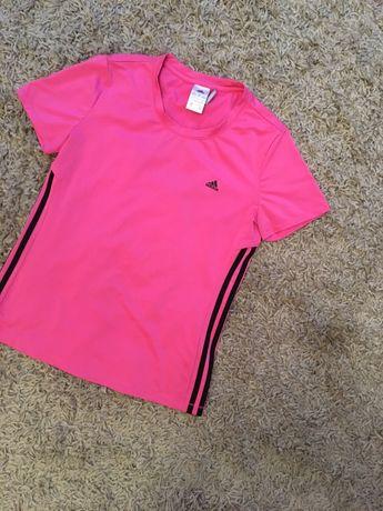 NOWA Koszulka bluzka sportowa termoaktywna sport różowa Adidas 38/M