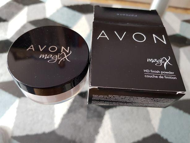NOWY Magix HD puder transparentny Avon HD Finish Powder