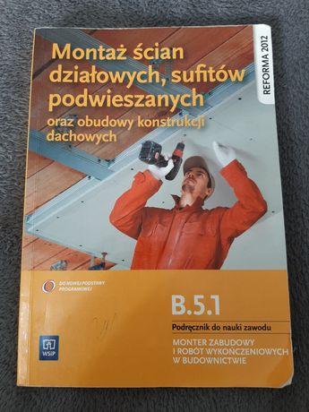 Podręcznik do nauki zawodu. Monter zabudowy i robót wykończeniowych