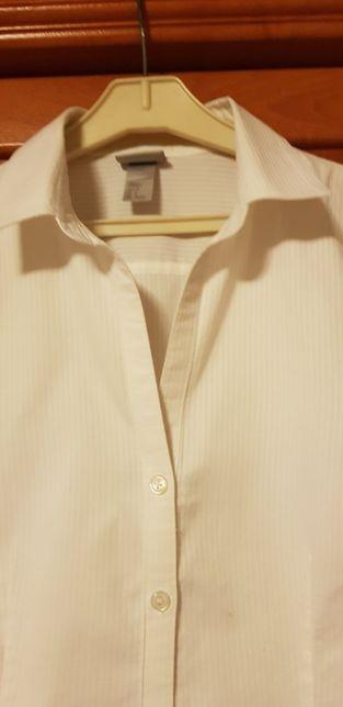 Bluzka koszulowa damska H&M r.38