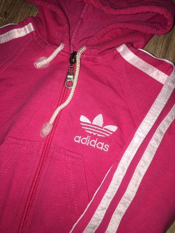 Różowa bluza Adidas 68/74