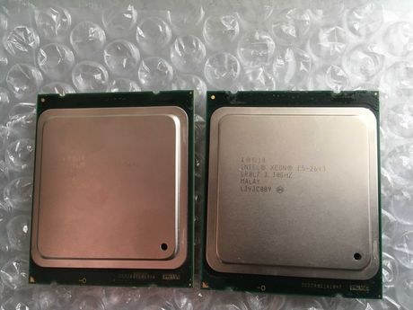 Пара Xeon E5-2643 3.3 GHz (4 ядра 8 потоков)