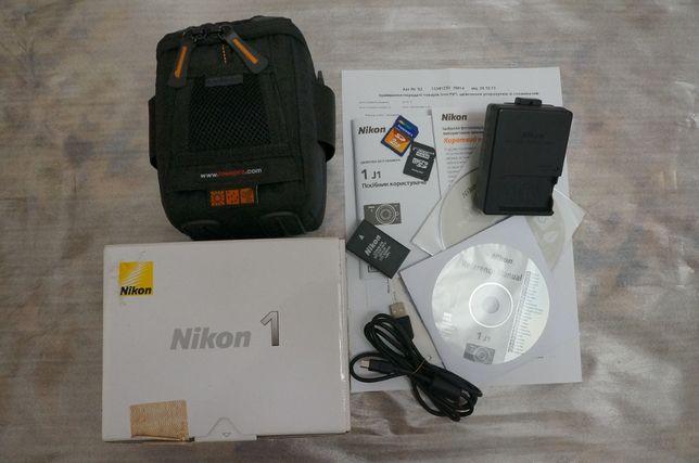 Nikon 1J1.  Состояние нового. Комплект с Nikor 10mm f2.8