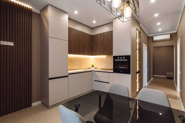 Люкс! 2-ком+кухня-гостиная. ДИЗАЙНЕРСКИЙ СТИЛЬНЫЙ РЕМОНТ. Аркадия.