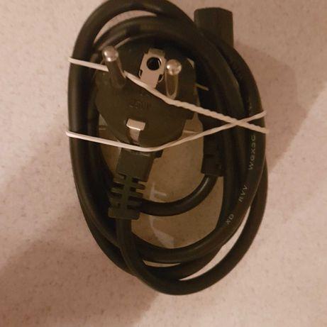 Kabel zasilajacy do zasilacza komputera stacjonarnego PC
