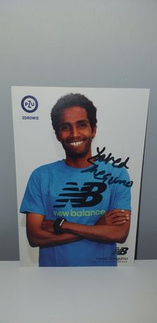 Autograf - Yared Shegumo