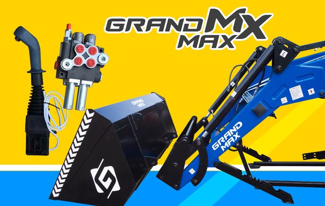Фронтальний погрущик Grand Max для трактора Мтз, Юмз, Т-40, з джойстик