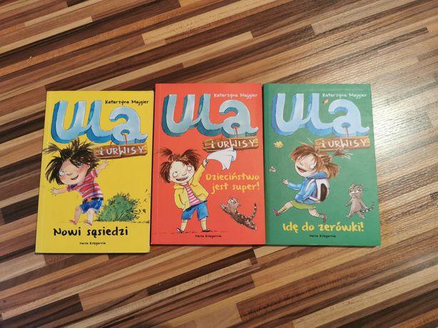 Zestaw książek Ula i urwisy