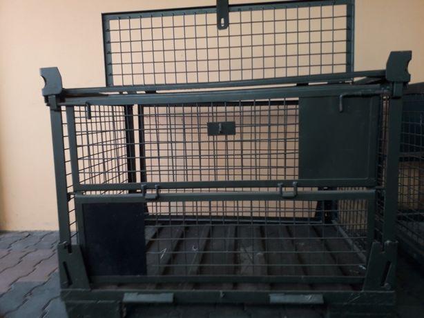 Metalowy box siatkowy składany 1200x800mm
