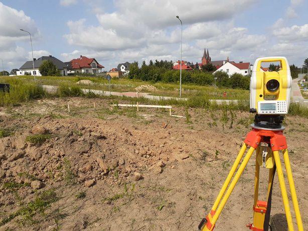 Geodeta, usługi geodezyjne, mapa, wytyczenie, pomiar, dron