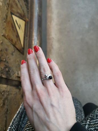 Кольцо сталь люксовая бижутерия