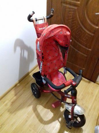 Велосипед дитячий каляска велосипед