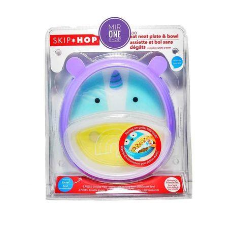 Тарелка детская. Детская тарелка от Skip Hop. оригинал