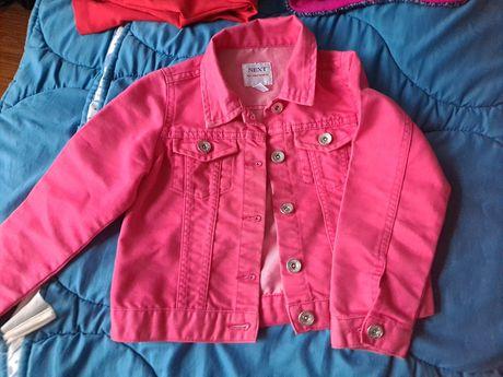 Kurteczka różowa katana rozmiar 116