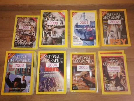 63szt. National Geographic od nr 1 polska edycja kolekcjonerska