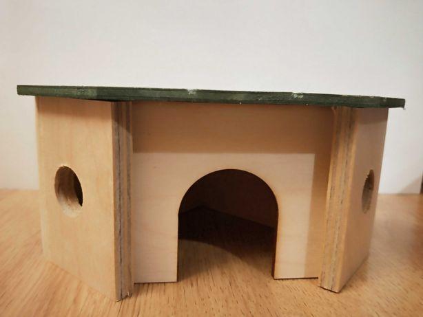 domek dla chomika dżungarskiego , roborowskieg i tunel