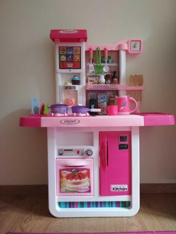 Interaktywna Kuchenka kuchnia z wyposażeniem  do zabawy dziecięca