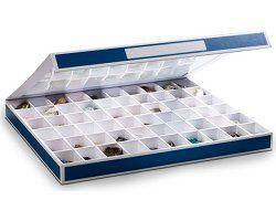 Caixa de coleccionismo com 60 divisões