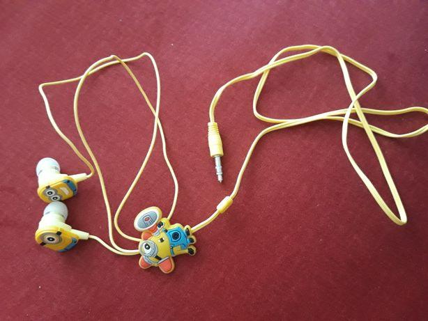 Słuchawki Minionki