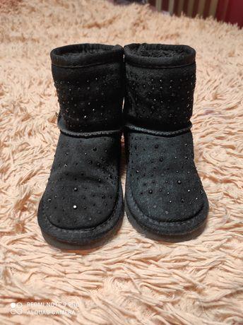 Угги зимние для девочки, сапожки, стелька 18 см