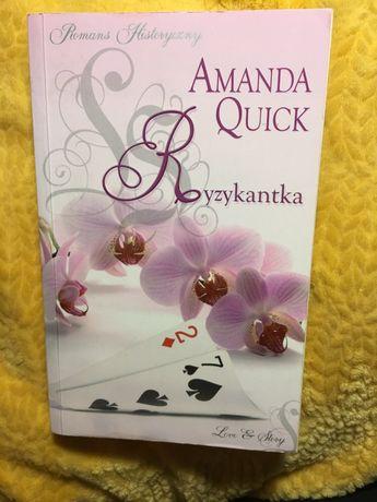 """Ryzykantka"" - Amanda Quick"