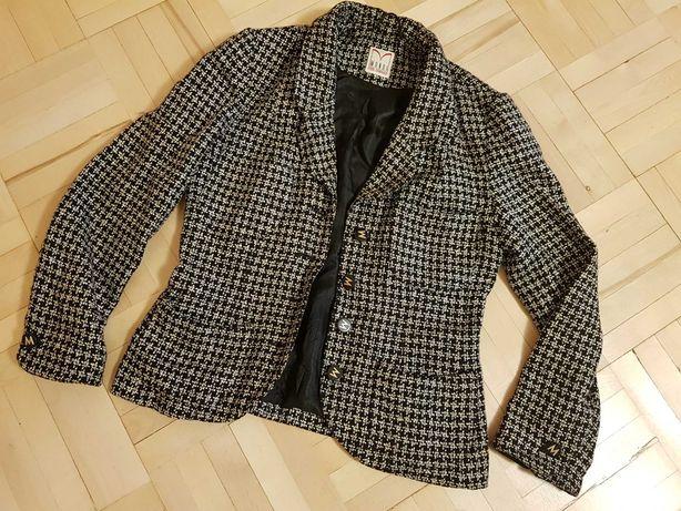 Качественный шерстяно-шелковый пиджак mondi р.38