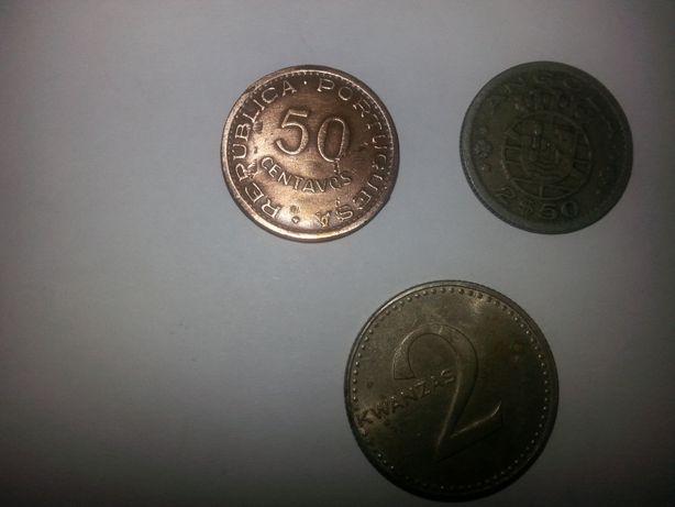 moedas de angola antigas