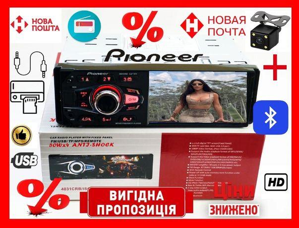 Автомагнитола Pioneer 4031/4033 CRB + Bluetooth + Пульт на Руль 4x50W