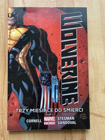 Komiks Wolverine Trzy miesiące do śmierci Tom 1