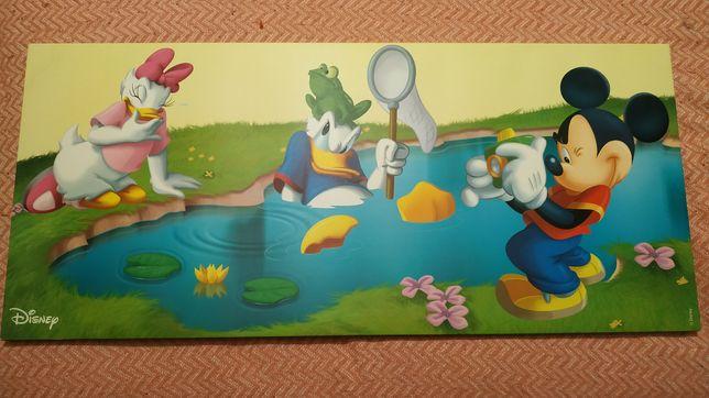 Quadro Disney 90x40