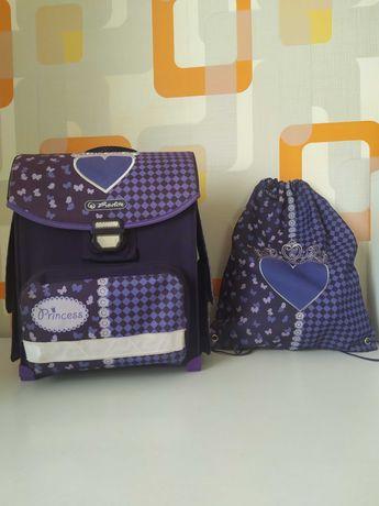 Школьный рюкзак Herlitz Princess + сумка для сменки