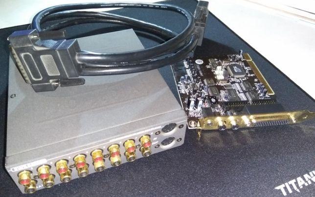 Placa de Aúdio e MIDI TERRATEC EWS88 MT