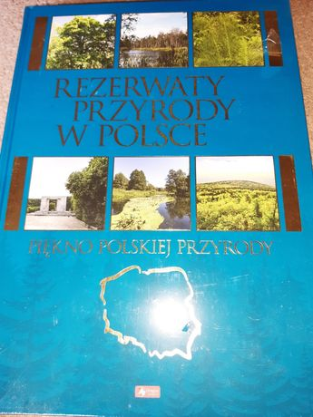 Książka Rezerwaty przyrody w Polsce, nowa w folii